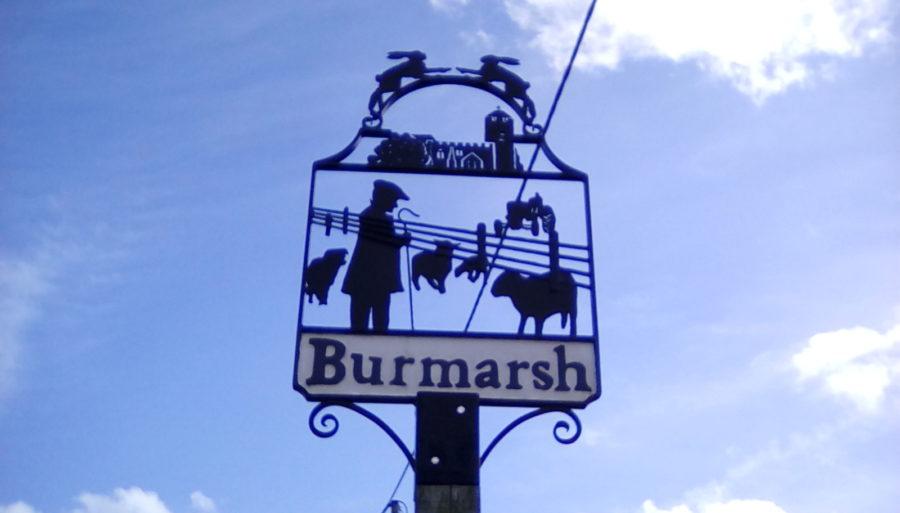 Burmarsh Sign